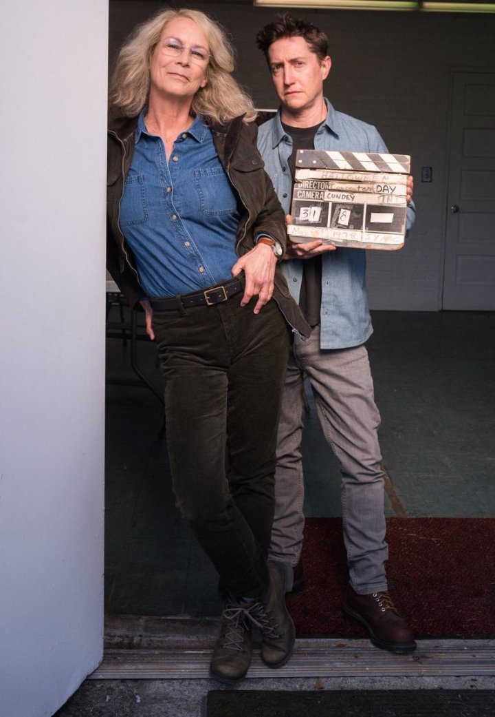 ScreenHub-Actor-Jamie Lee Curtis with David Gordon Green