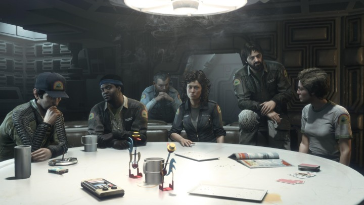 Alien Isolation Nostromo Crew