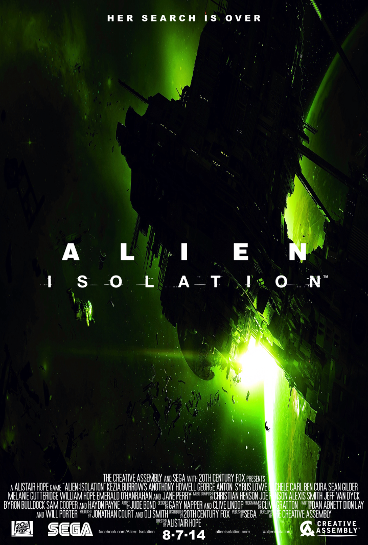 Alien Isolation Poster