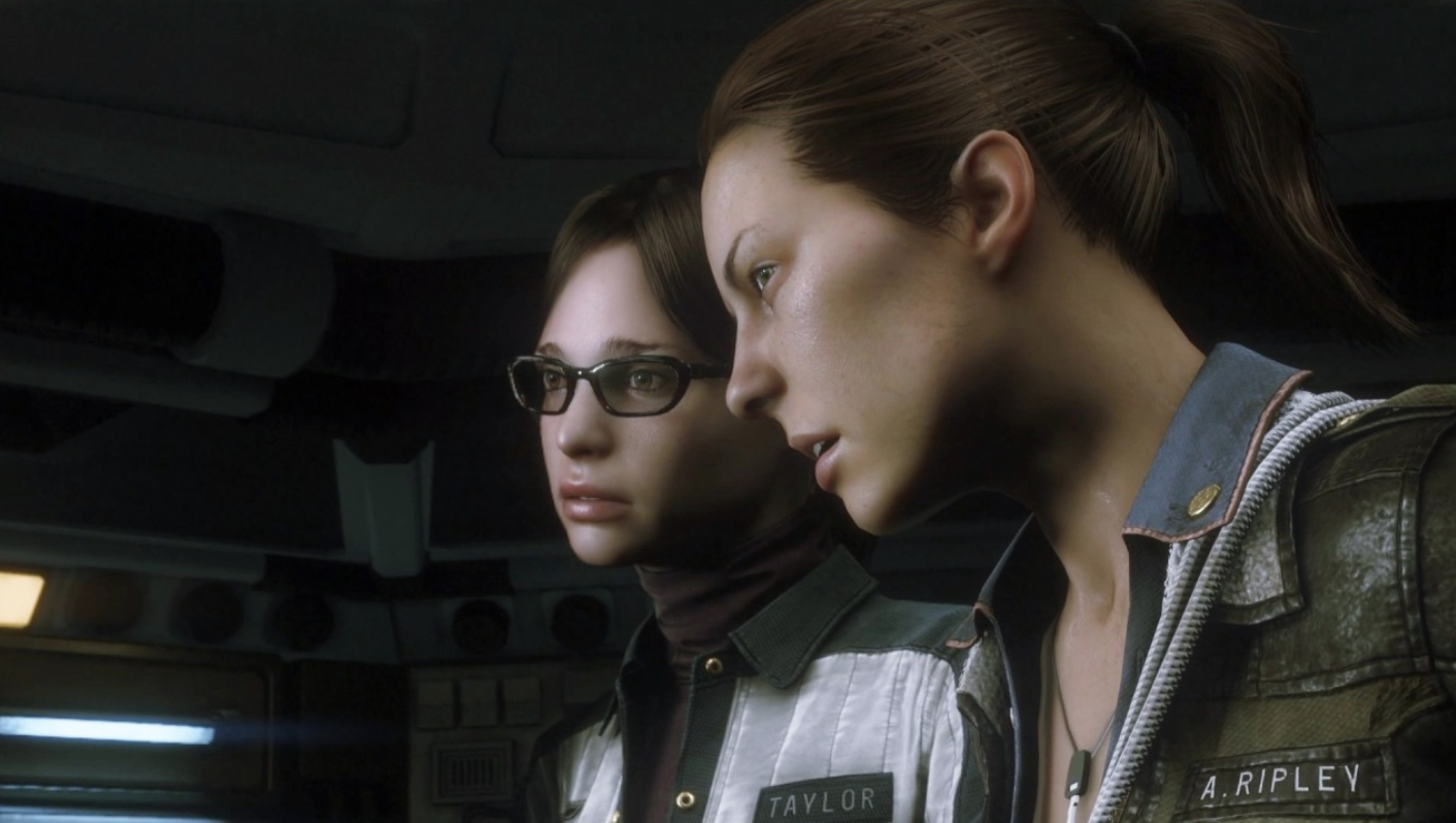 Alien Isolation Ripley and Taylor