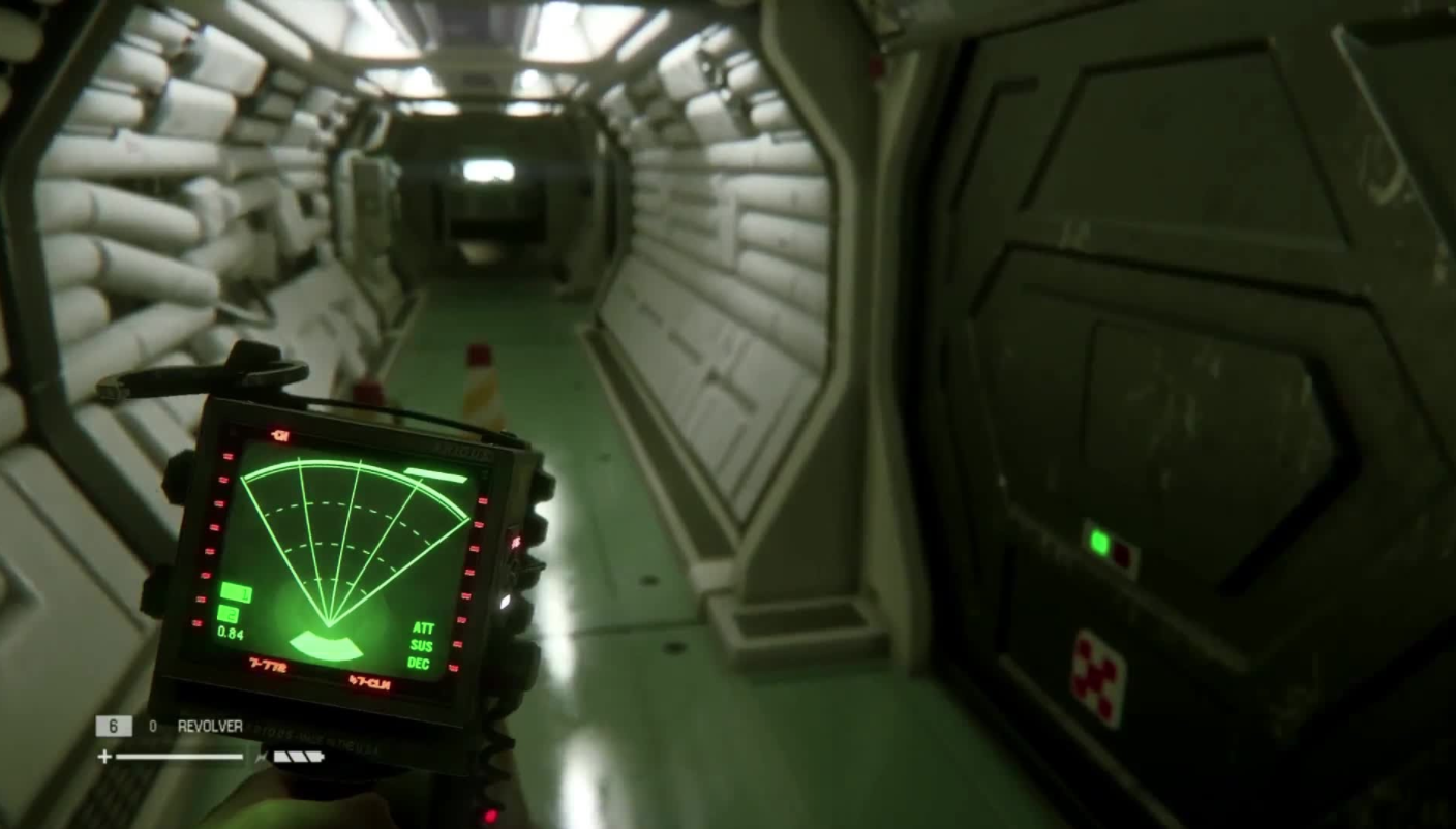 Alien Isolation Scenery