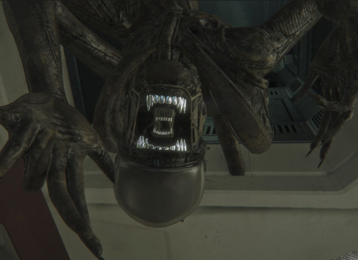 Alien Isolation Vent Attack
