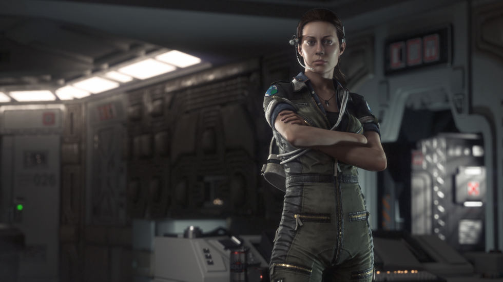 Amanda Ripley Alien Isolation
