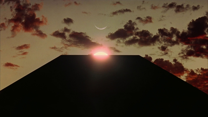 2001 A Space Odyssey - The monolith
