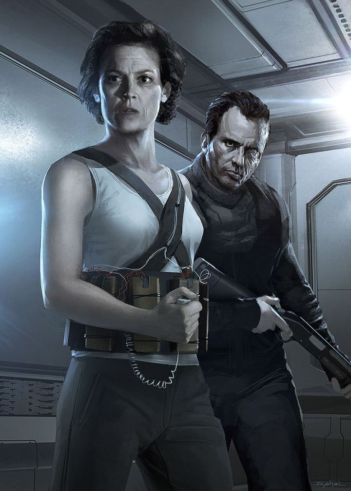 Alien 5 Ripley and Hicks