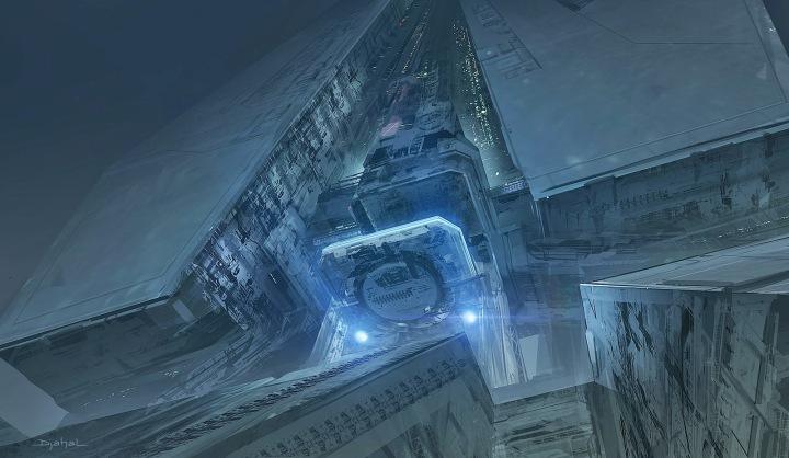 Alien 5 Scenery