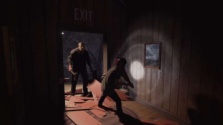 Friday the 13th The Game Chuck Vs Jason