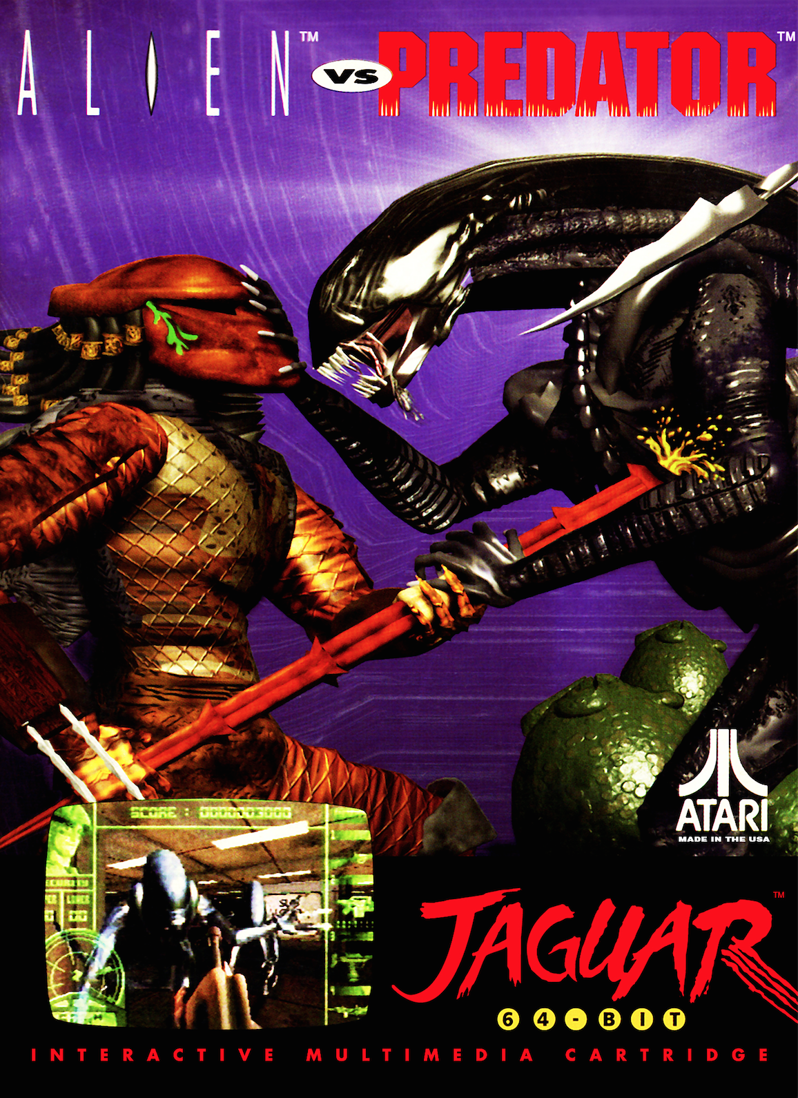 ScreenHub-Game-Alien vs Predator