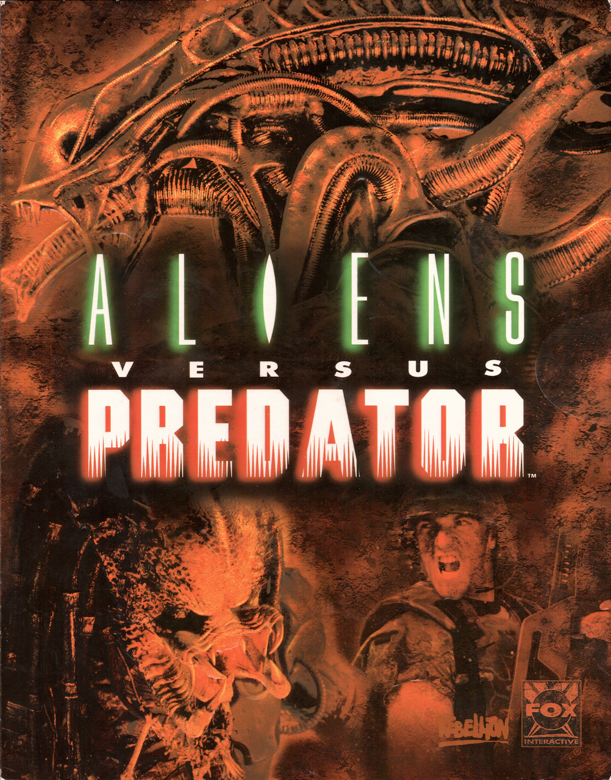 ScreenHub-Game-Aliens vs Predator