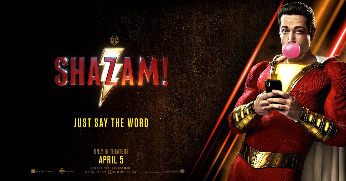 Movie Poster 2019: 'Shazam!' Review-ScreenHub Entertainment